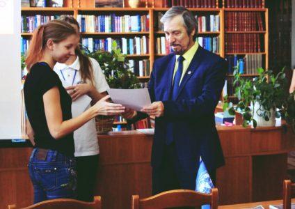 Финалистка конкурса- ученица 10-А класса Ковальская Кристина