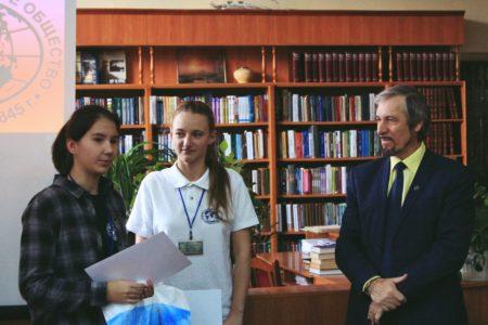 Финалистка конкурса - учащаяся 10-А класса Рыскина Мария