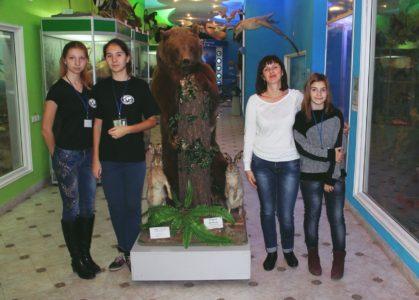В зоологическом музее КФУ им. В. И. Вернадского