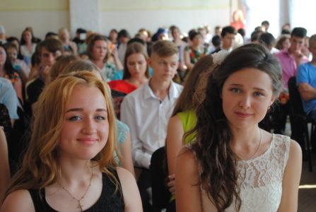 выпускницы 9-Б класса